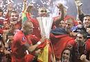 El Sevilla, bicampeón de UEFA