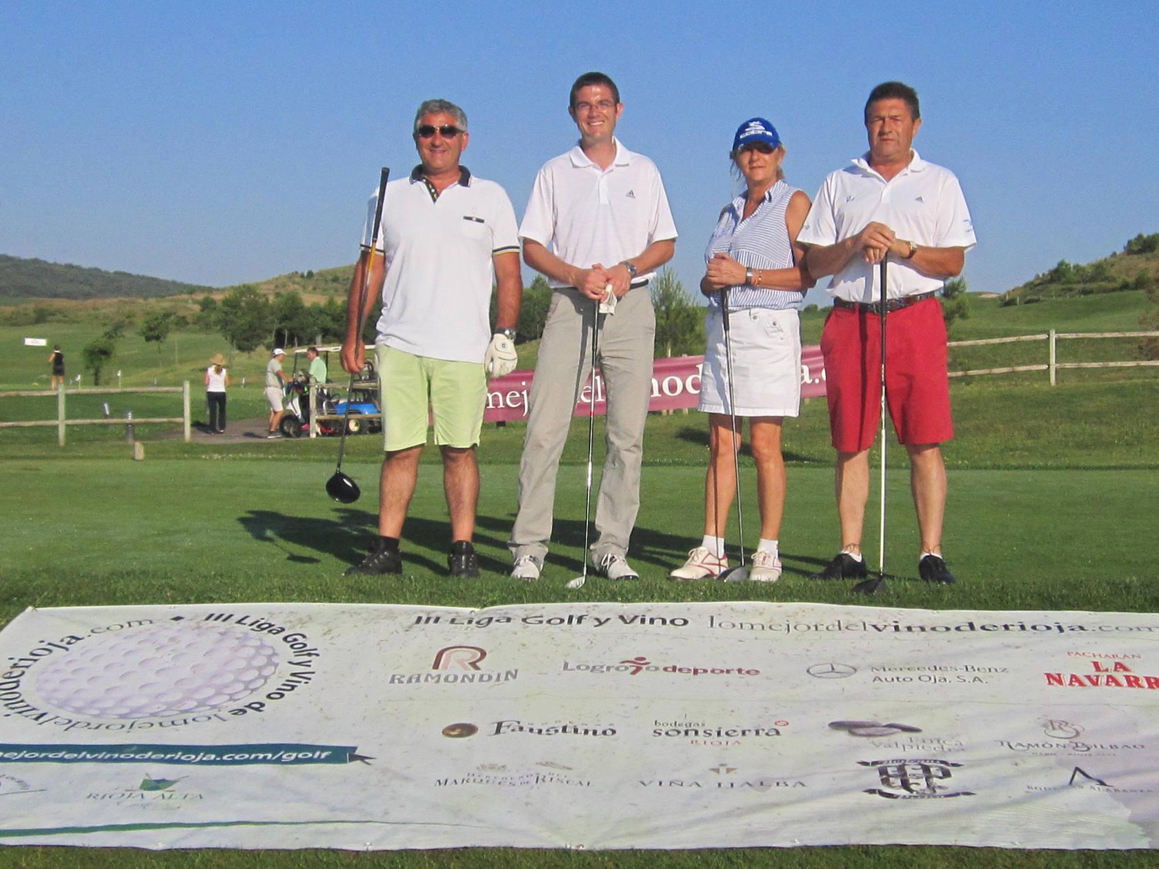 III Liga de Golf y Vino: torneo de los patrocinadores (Salida)