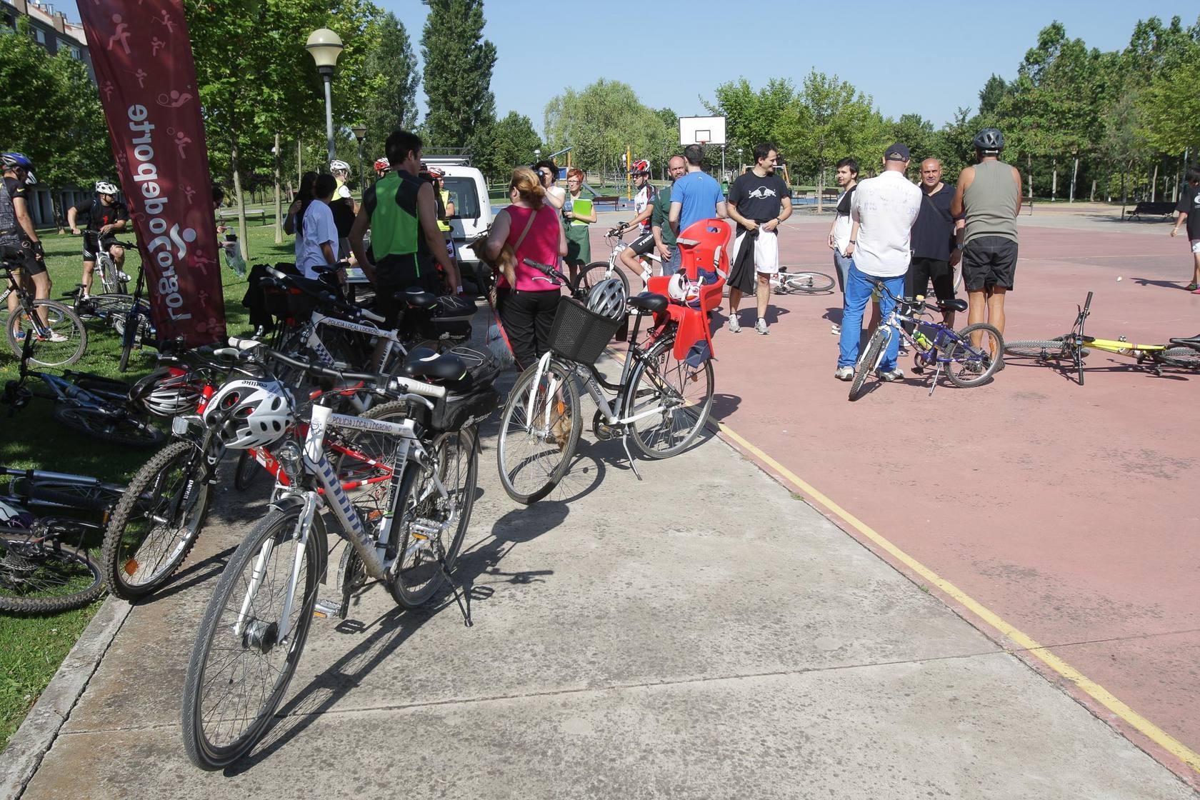 Marcha ciclista a la Grajera