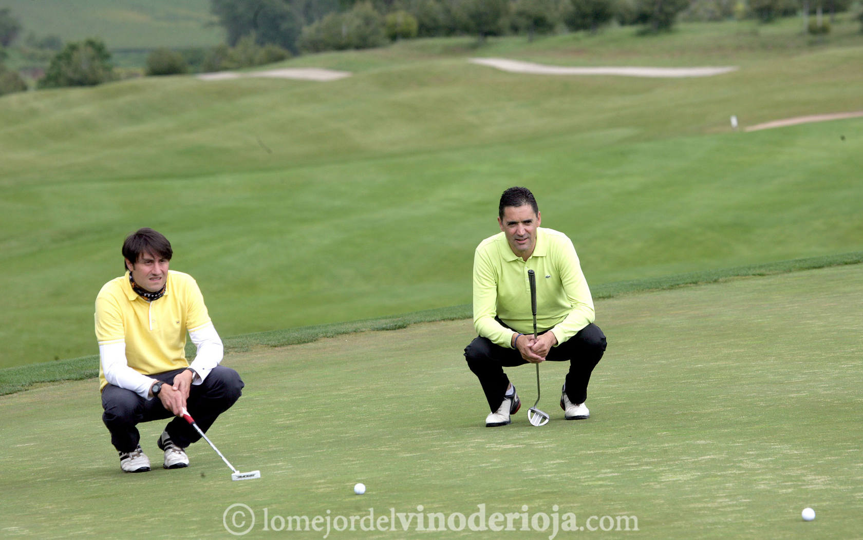 III Liga de Golf y Vino: Torneo Ramón Bilbao (Jugadas I)