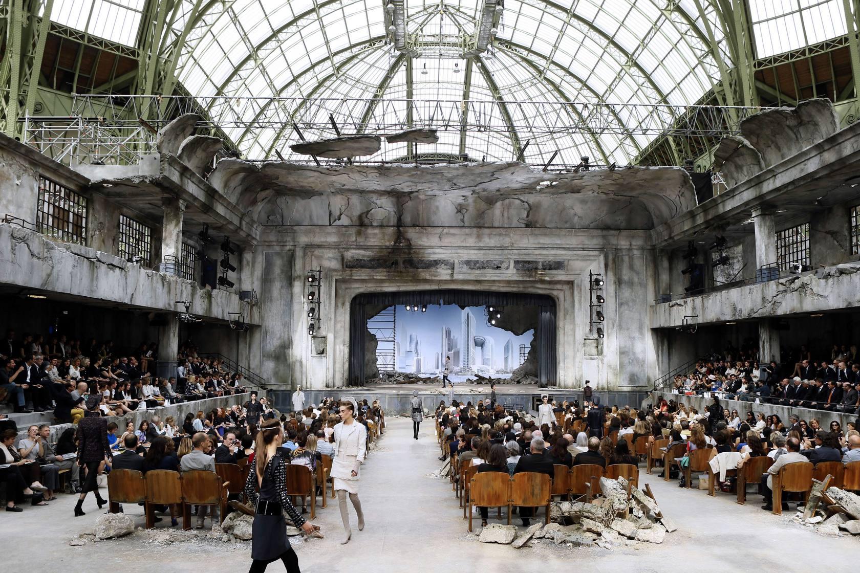 Chanel resplandece en París