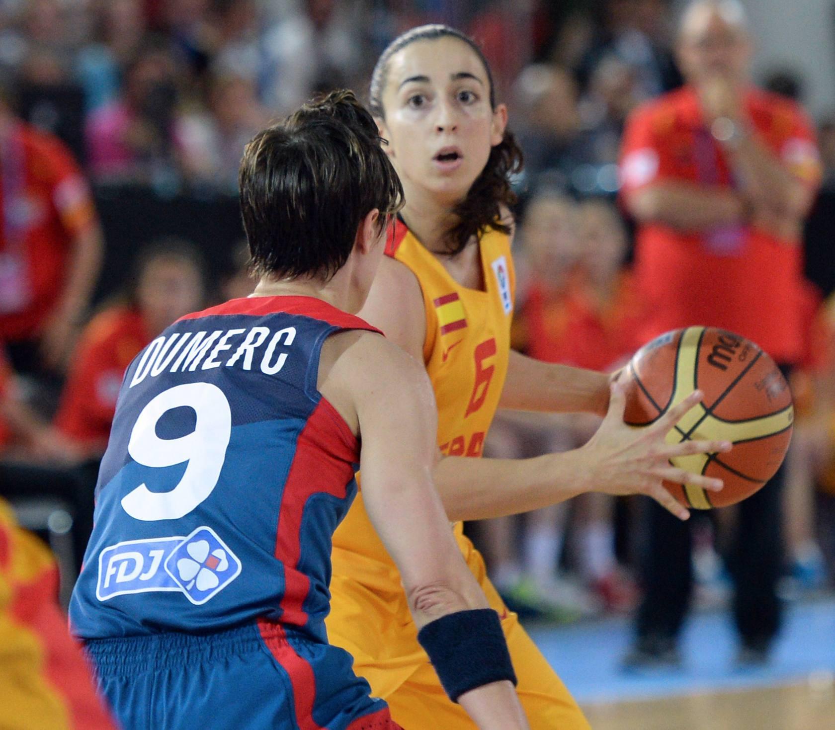 Final de Eurobasket femenino: España-Francia