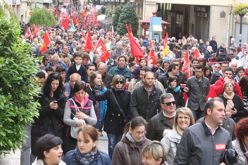 Manifestación del Primero de mayo