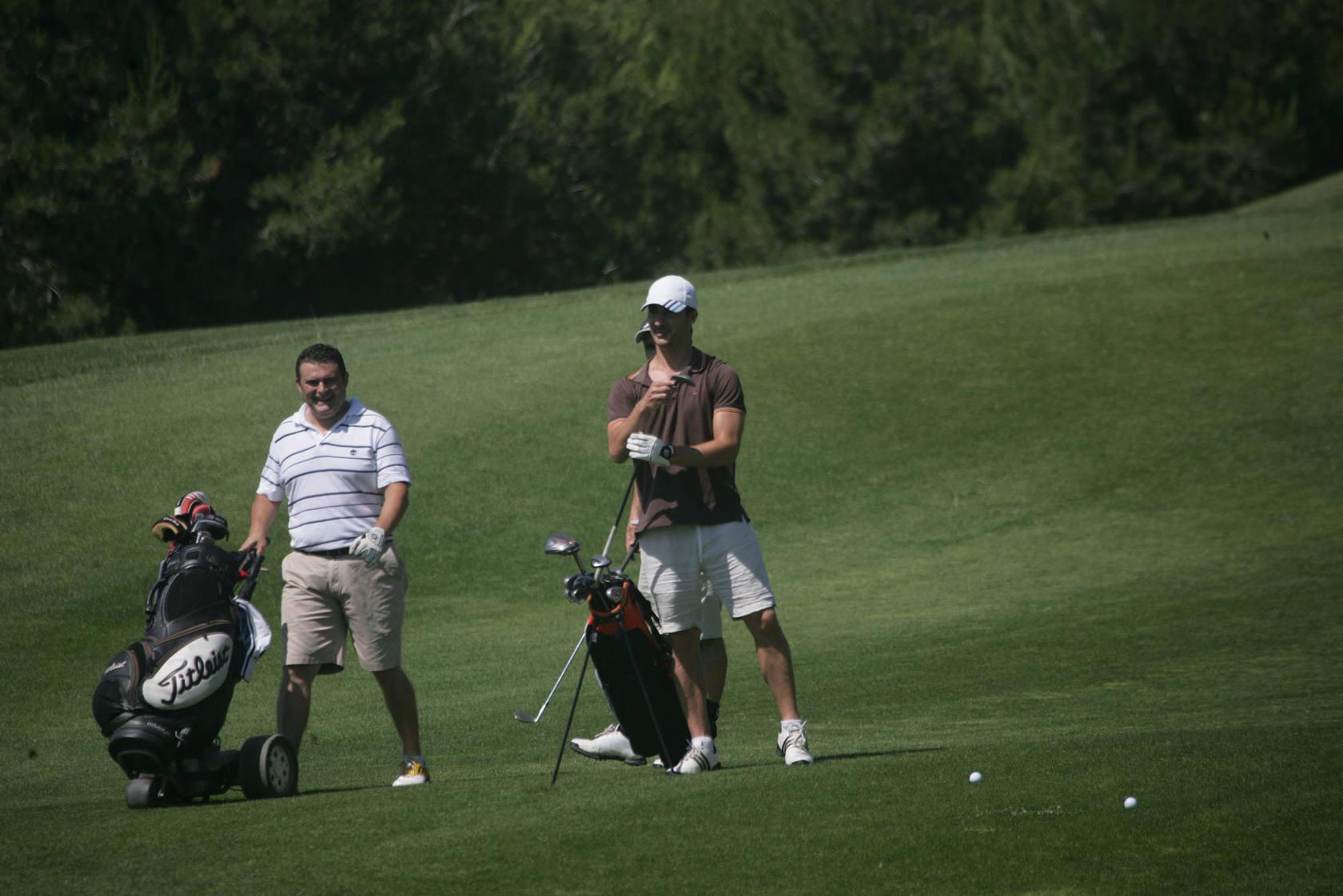 III Liga de Golf y Vino: torneo de los patrocinadores (Jugadas I)