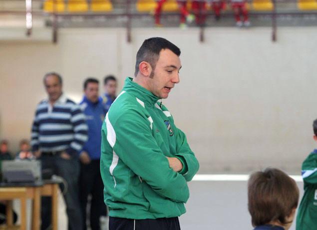 Torneo de fútbol sala Ángel de Vicente, durante la jornada del jueves