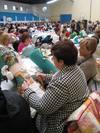 Casi 600 encajeras se reúnen en Alfaro