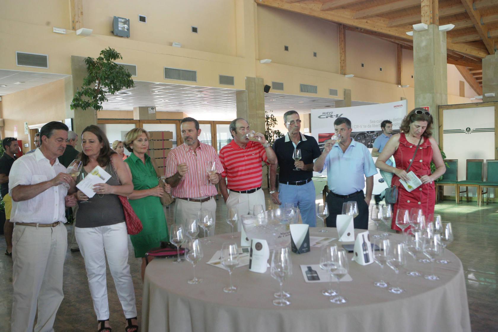 III Liga de Golf y Vino: torneo de los patrocinadores (Premios I)