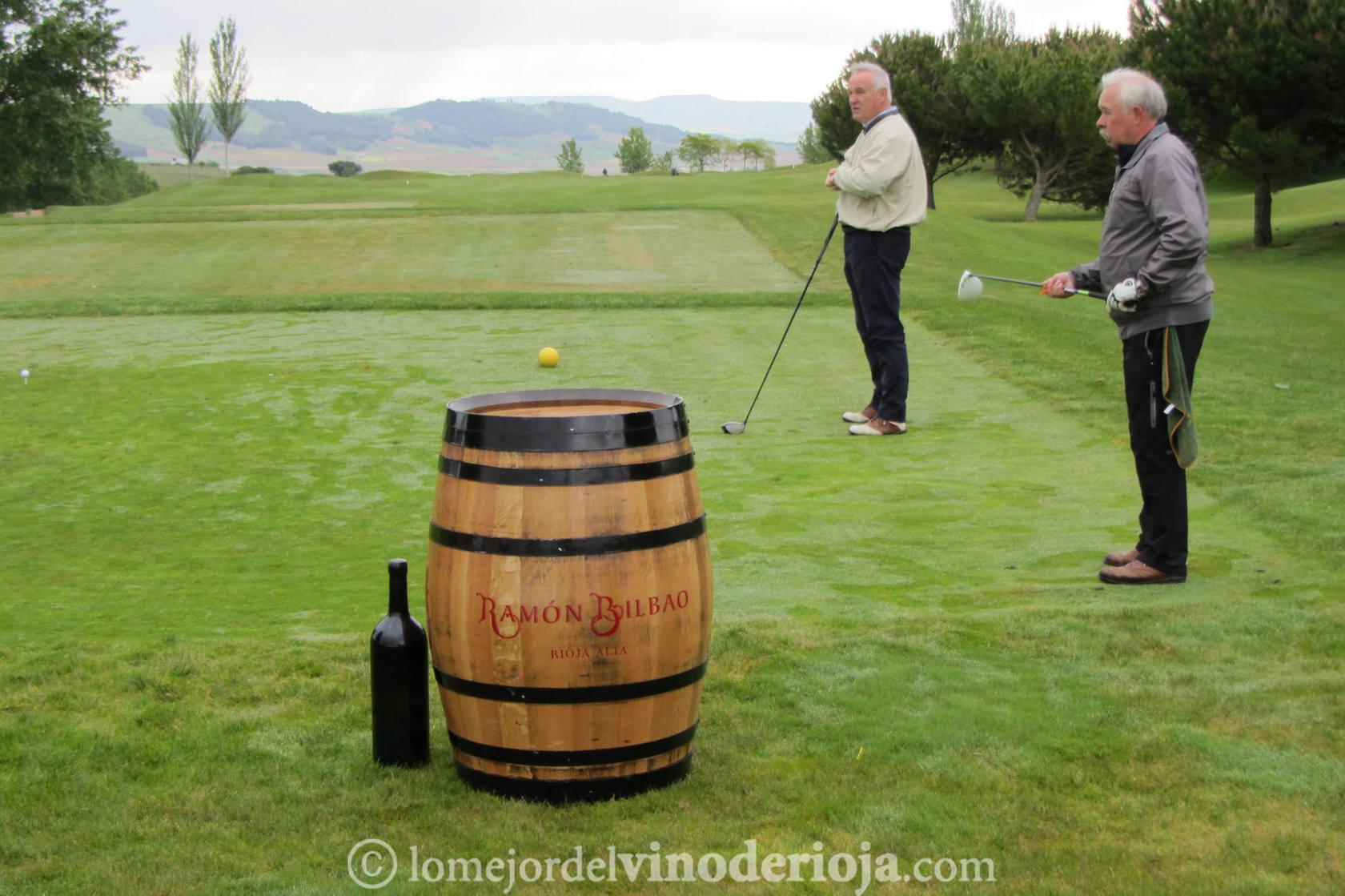 III Liga de Golf y Vino: Torneo Ramón Bilbao (Salida)