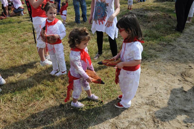 Batalla Infantil del vino en Haro