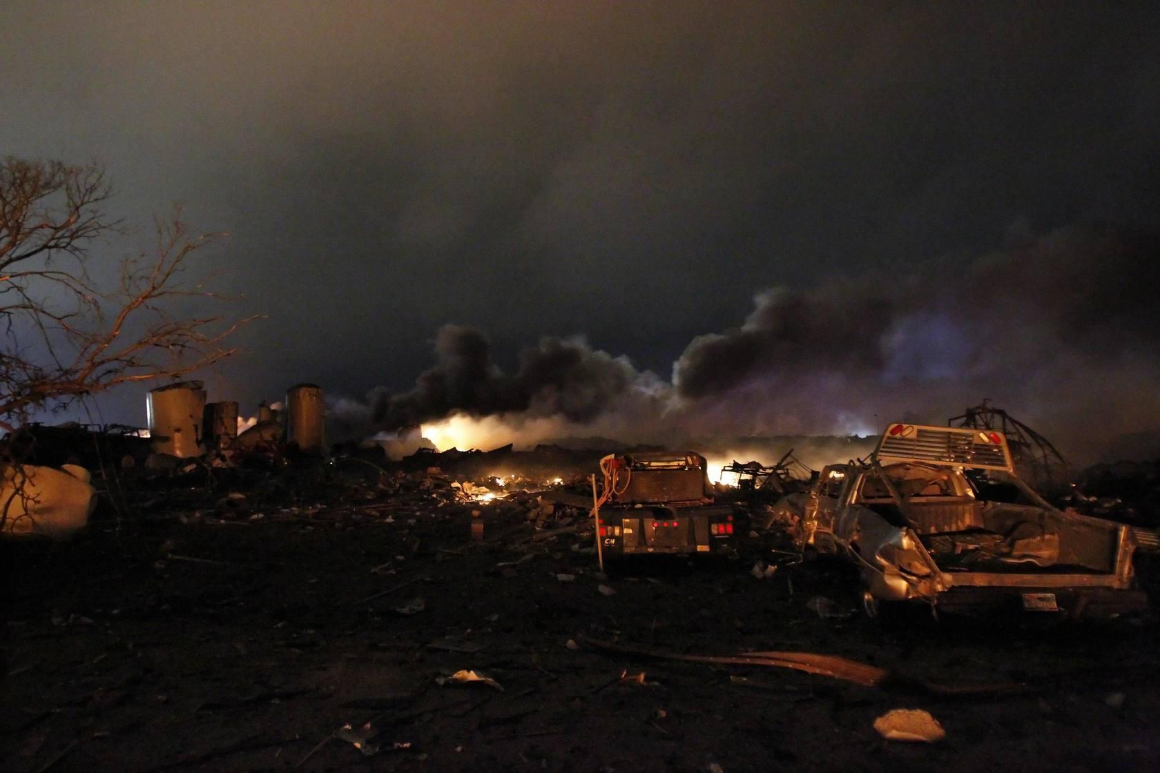 Explosión mortal en Texas