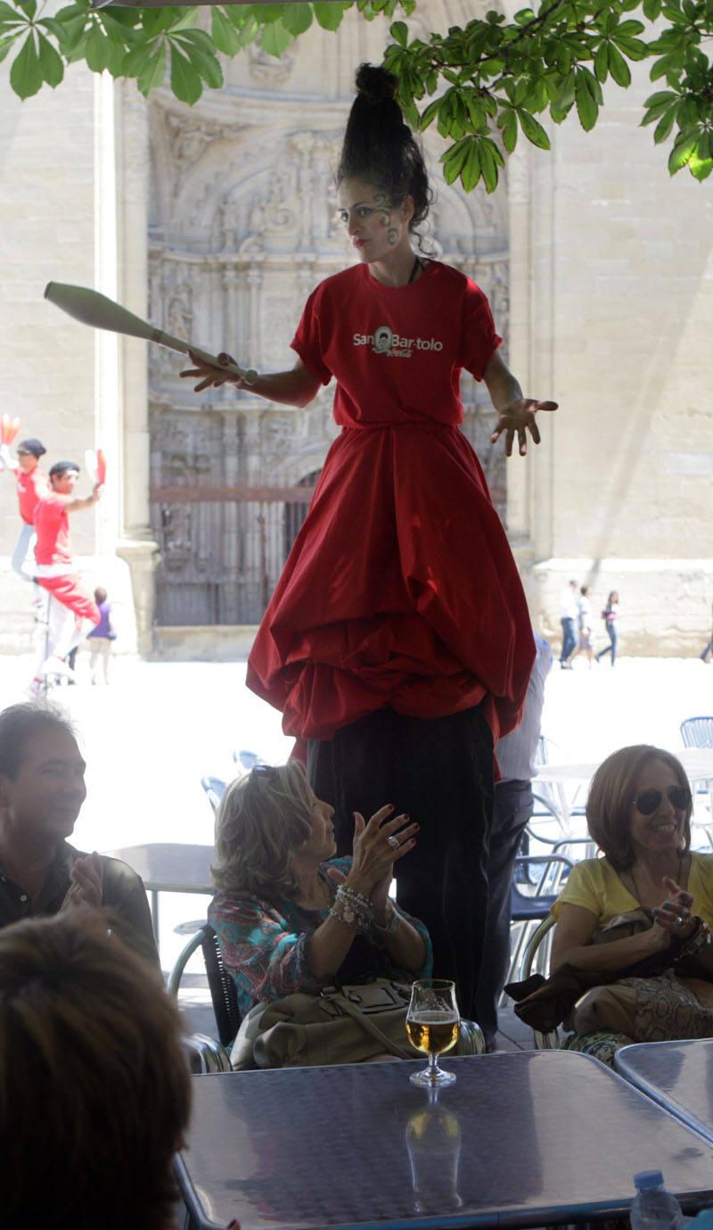 Logroño celebra San Bartolo, la iniciativa de Coca-Cola