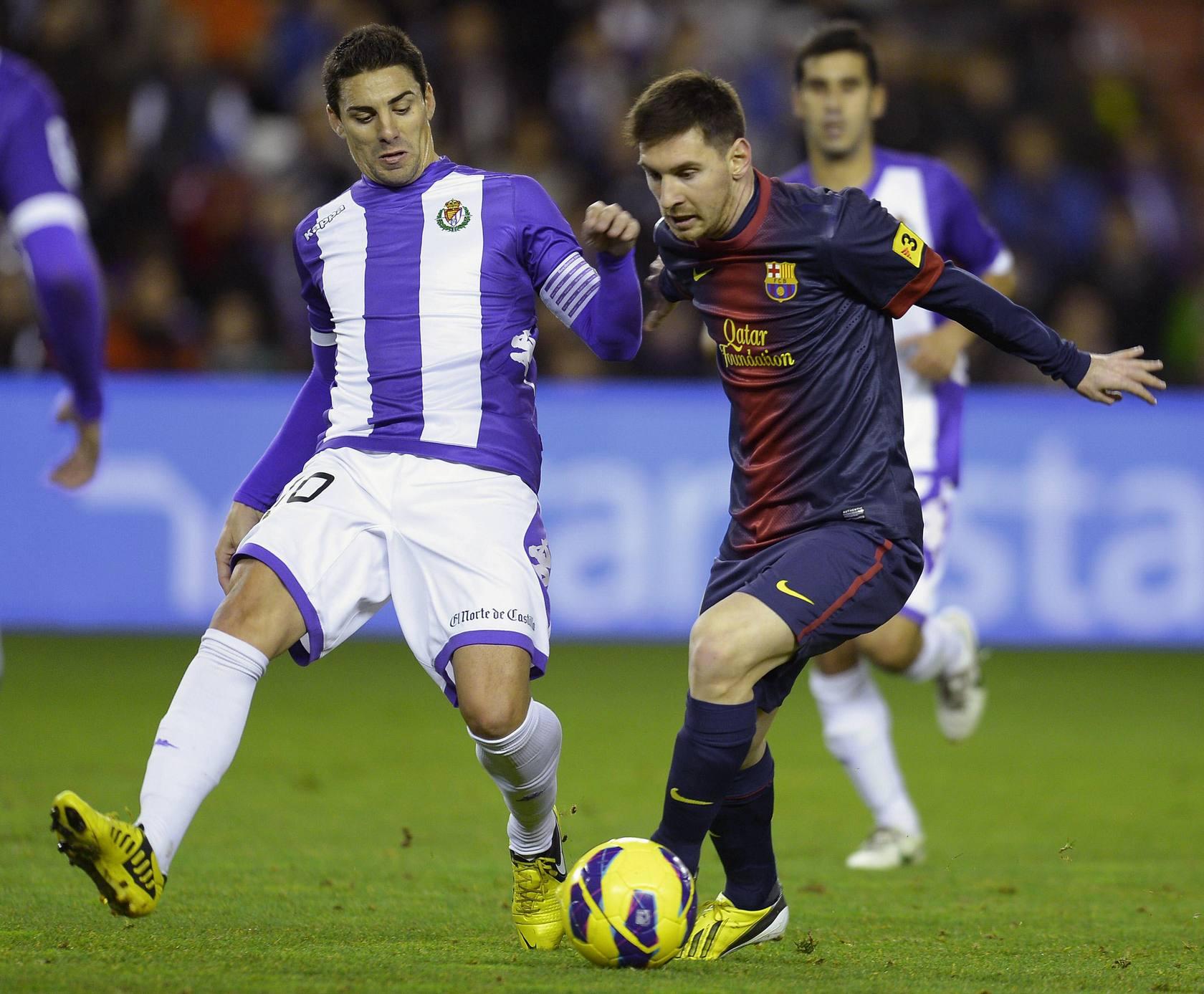 El Barcelona vence en Valladolid