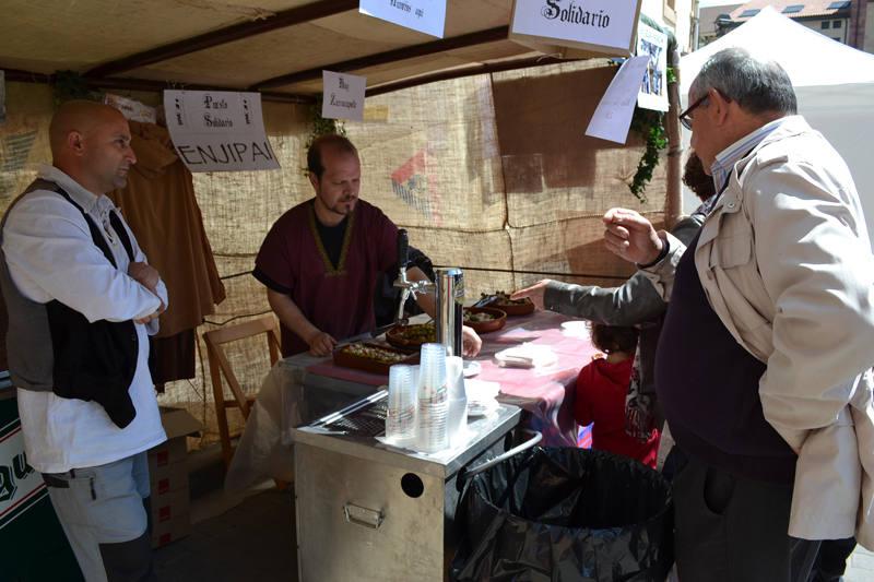 Mercado medieval en Nájera