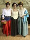 Desfile de ropa renacentista en el Convento de Madre de Dios