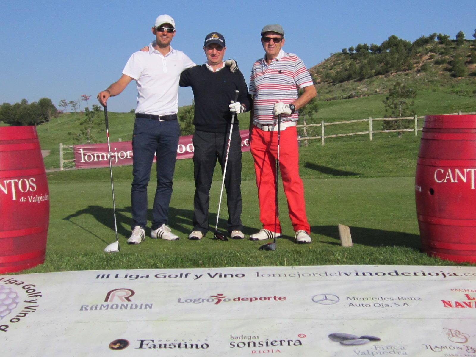 III Liga de Golf y Vino: Torneo Finca Valpiedra (Salida)