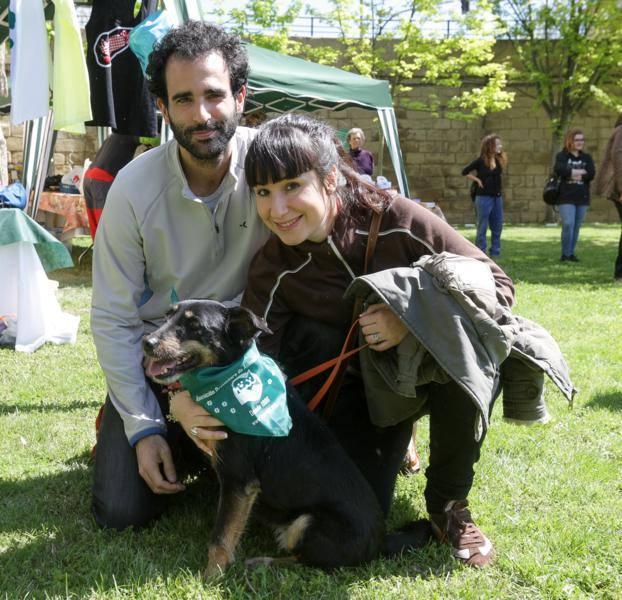 Paseo con mascotas por Logroño