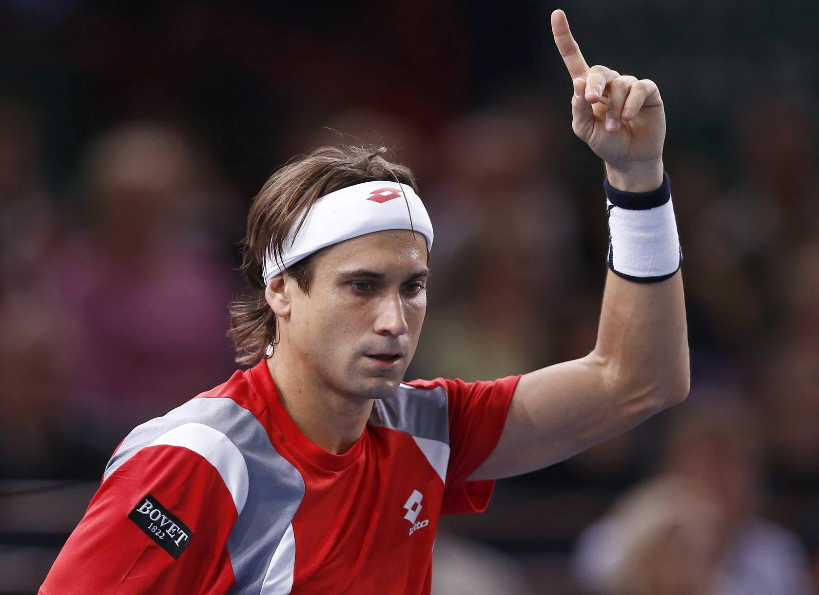 David Ferrer gana su primer Masters 1.000 en Bercy al derrotar a Janowicz