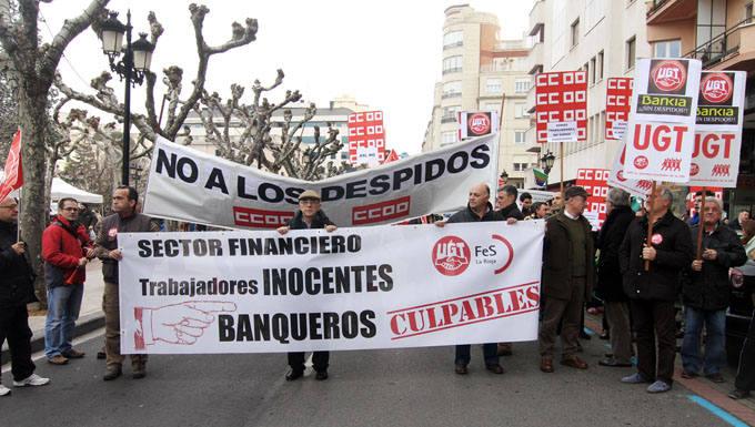 Concentración de empleados de Bankia