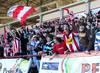 El público del UDL-Alavés disfrutó del partido