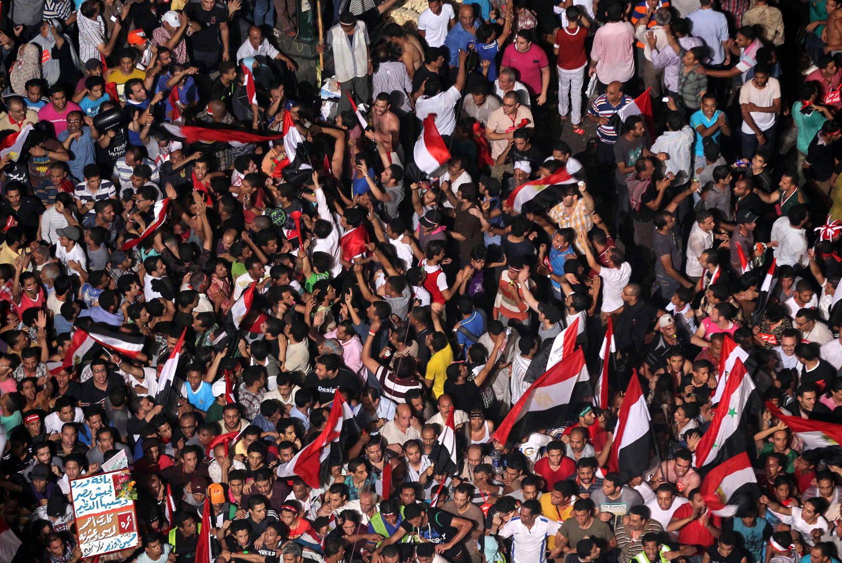 Alegría en Tahrir